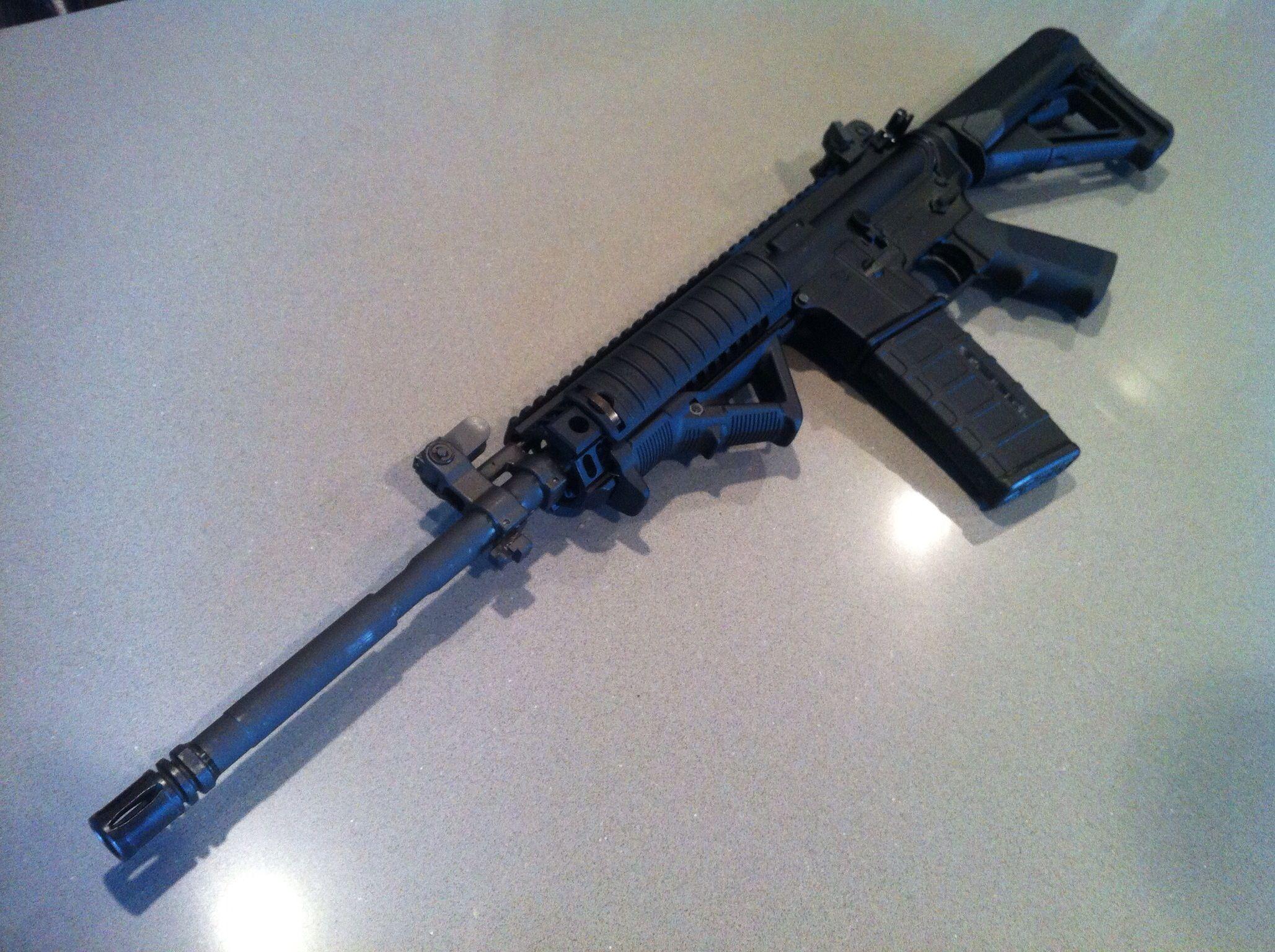 Colt AR Magpul'd out!