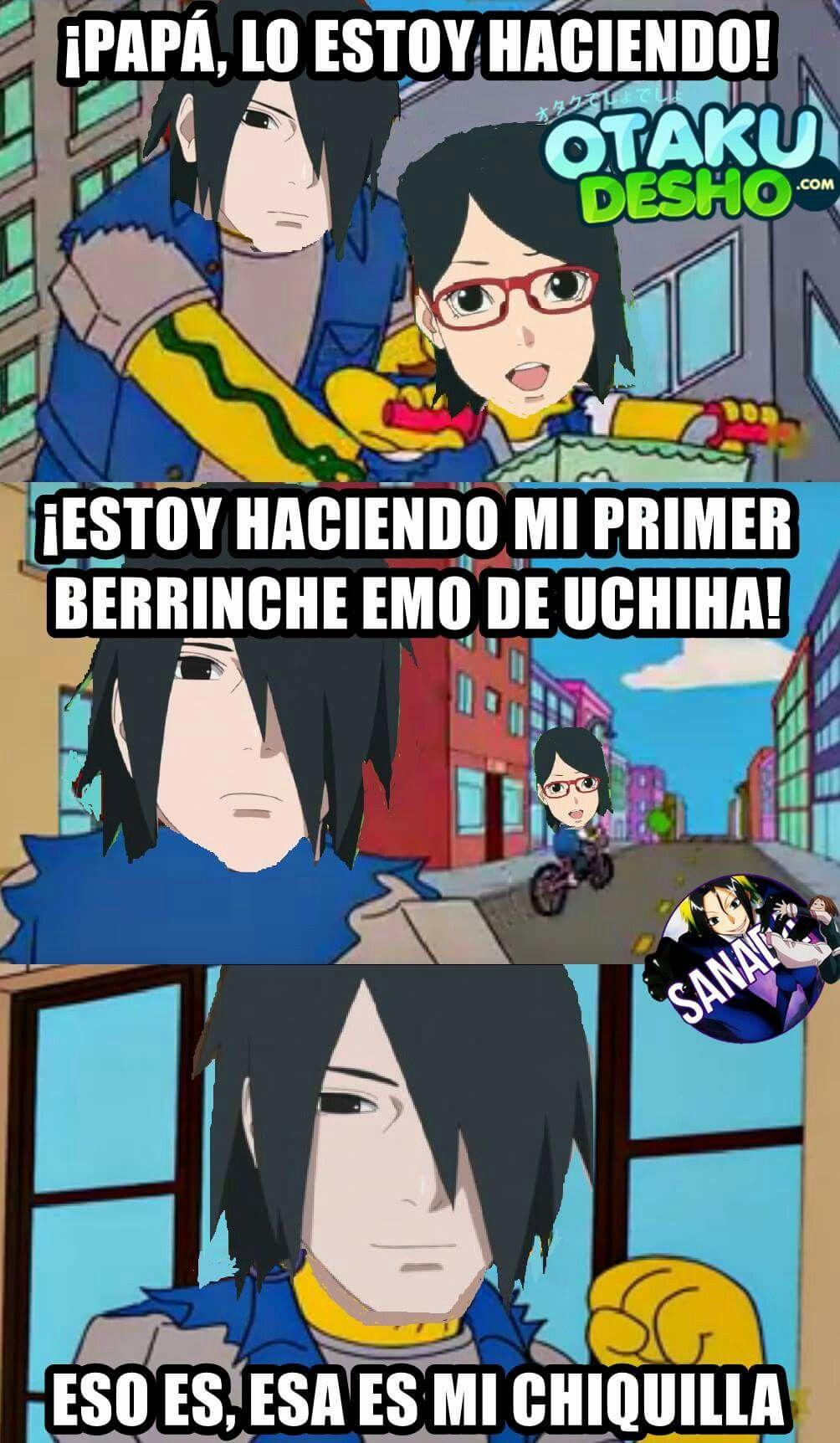 Pin De Saudy Tk En Naruto Naruto Anime Memes De Anime Memes Divertidos