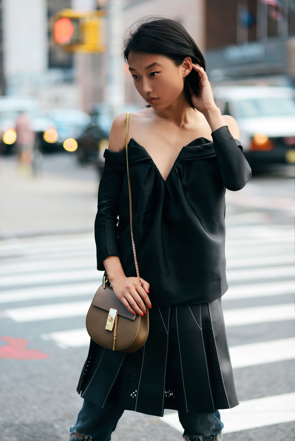 Margaret Zhang from Shine By Three wears Zimmermann Tempo Off ...