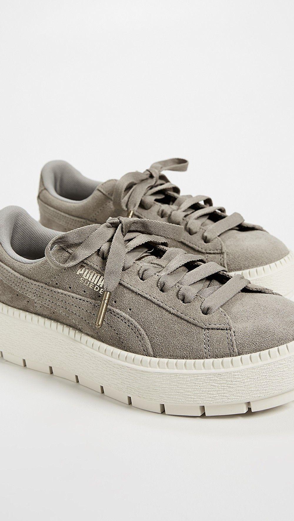 Puma Suede Platform Trace Sneakers