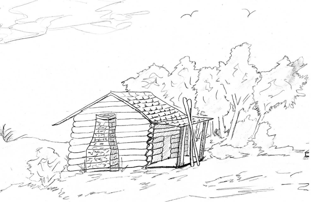 Pioneer Log Cabin Coloring Pages Coloring Page Coloring Home Coloring Pages House Colouring Pages Free Coloring Pages
