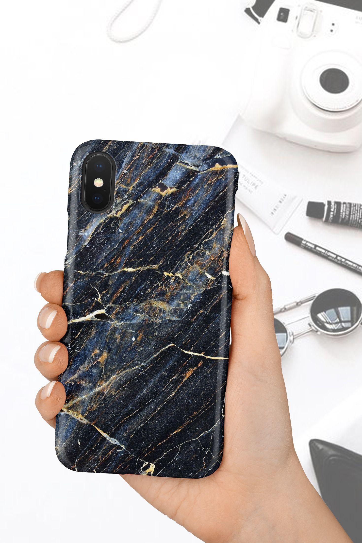 Black marble iphone xr case gold marble iphone xs max case