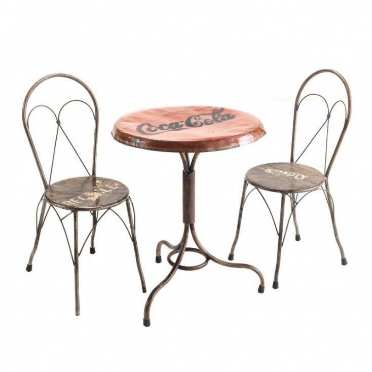 Recycled Round Bistro Cafes Style Outdoor Alfresco Bar Furniture Vintage Retro Themed And Bars Patio At Our Upcycled Uk