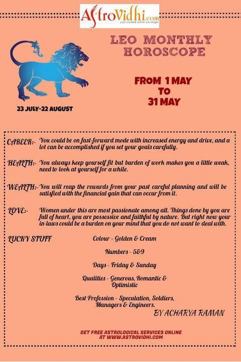 leo astrology monthly