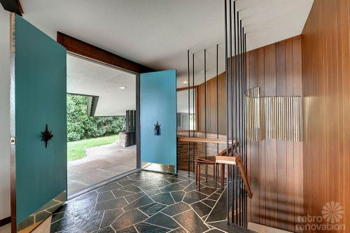 Mid Century Modern Interior Doors stunning, spectacular 1961 mid-century modern time capsule house