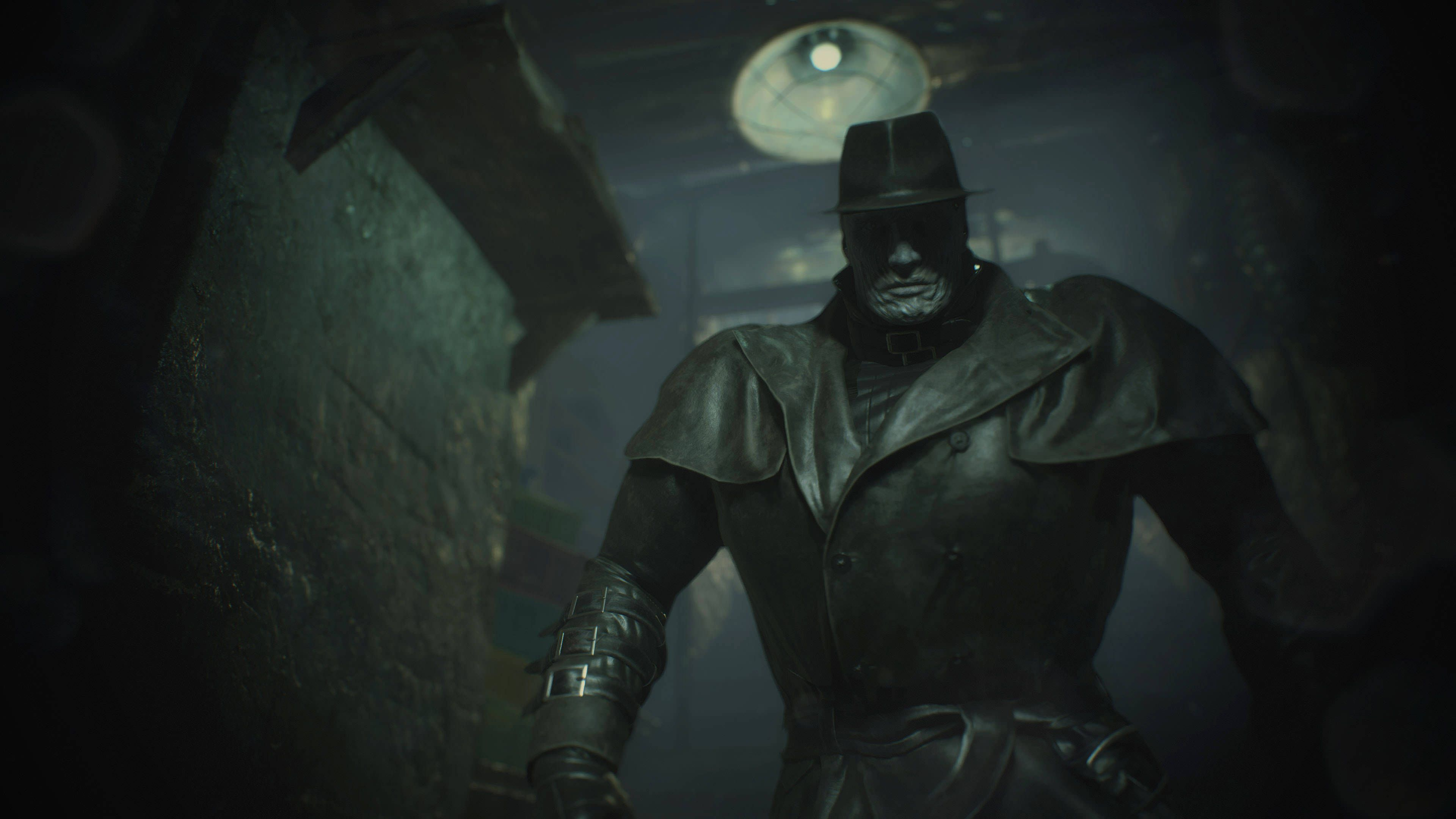 Resident Evil 2 Remakes Mr X Is The Perfect Panic Inducing Enemy