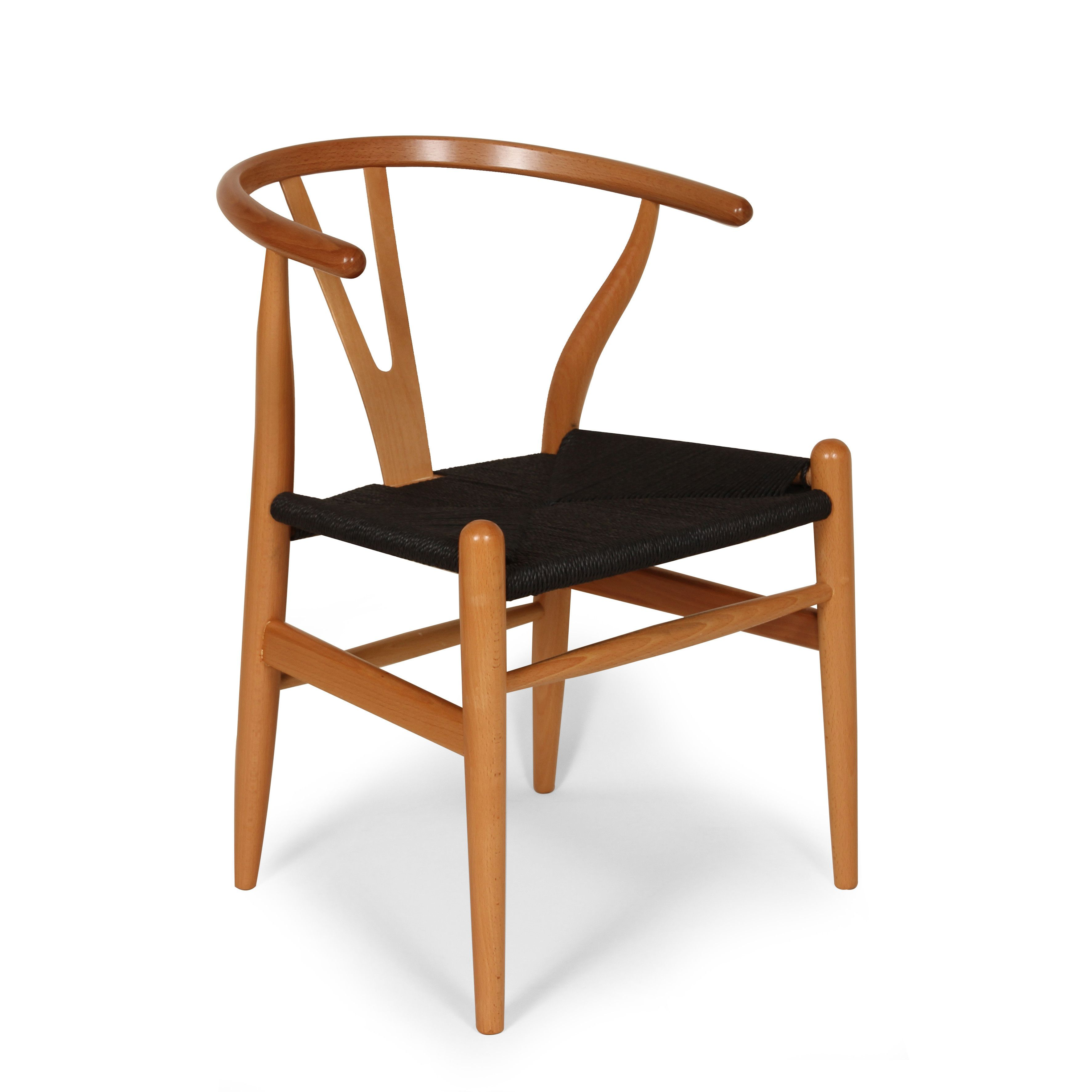 189 MidCentury Modern Reproduction CH24 Wishbone Y Chair