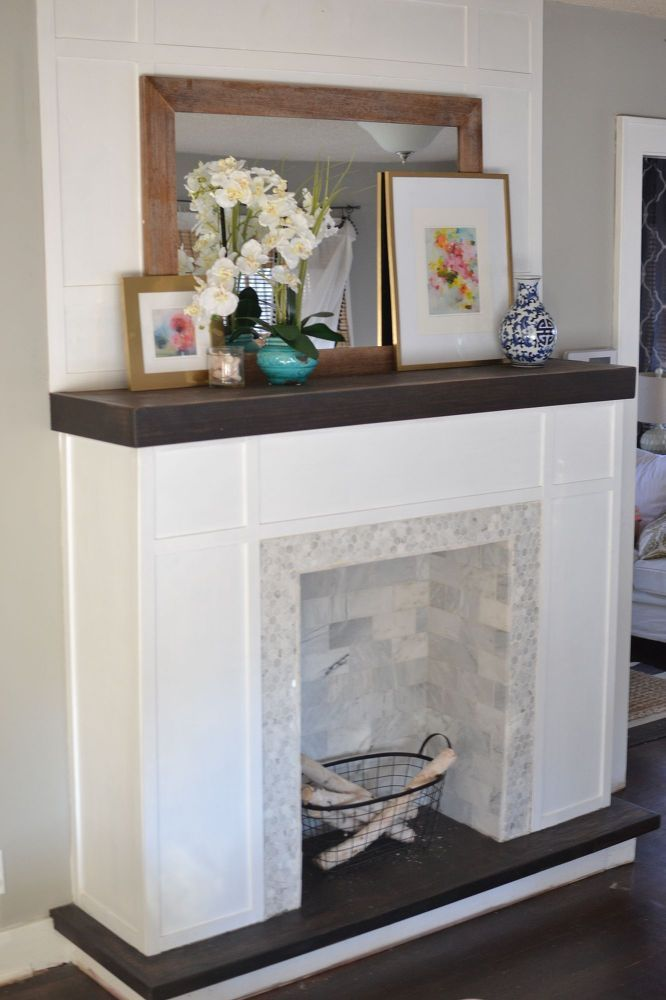 How To Build A Faux Fireplace Faux Fireplace Diy Faux Fireplace Decor