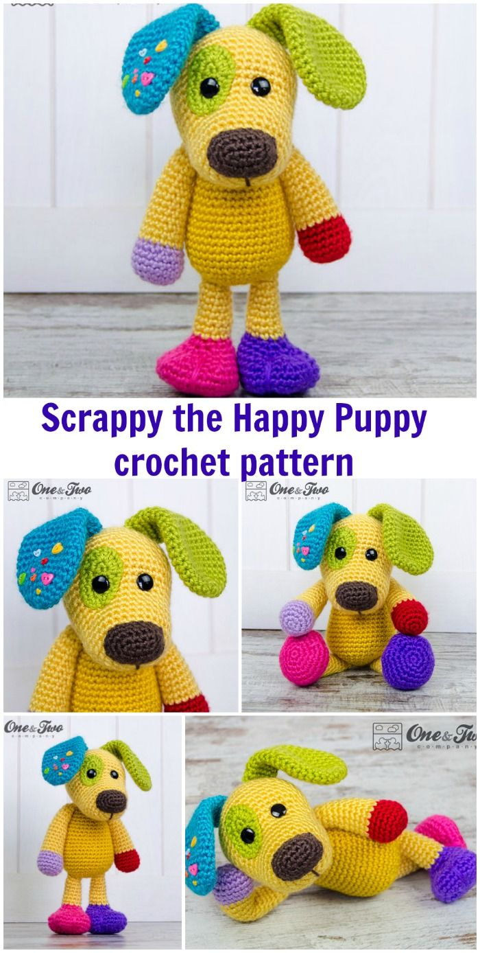 Crochet pattern for all your little scraps of yarn - and all your ...