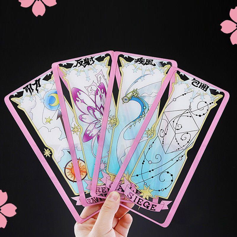 Anime Cardcaptor Sakura Transparent Clow Cards thicken