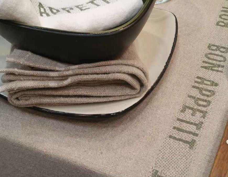Bon Appetit French Linen Placemats Napkins French Linen French Table Linens Linen