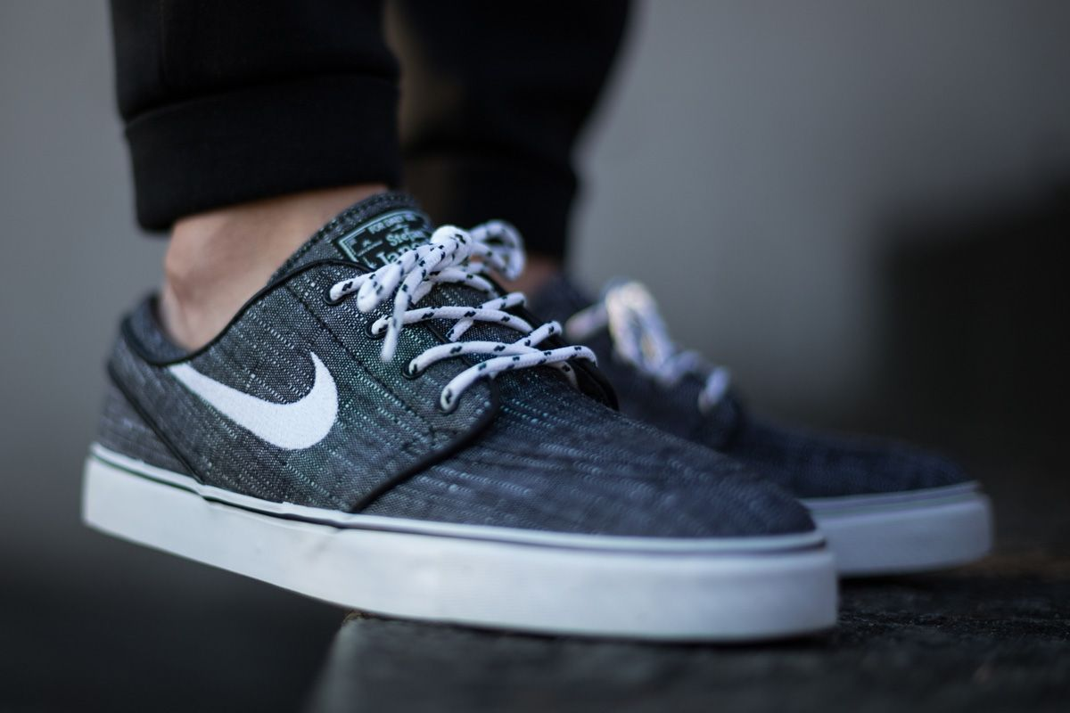 Nike Toile Janoski Couleur Anthracite remise s383h