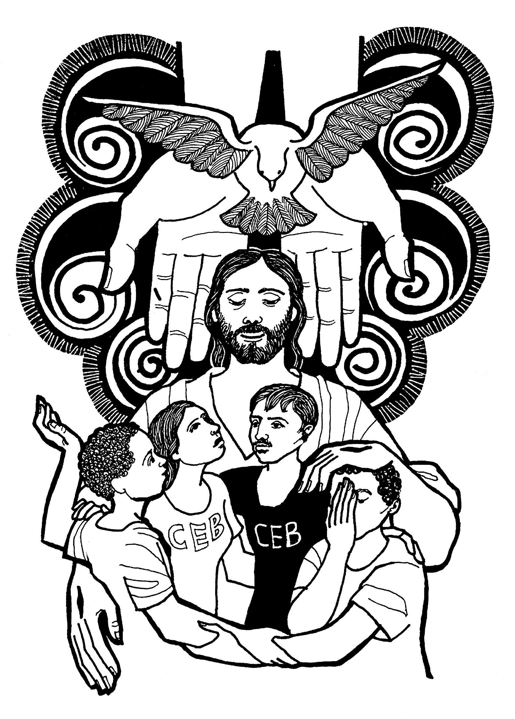 Evangelio Segun San Juan 3 16 18 Del Domingo 11 De Junio De 2017 Paginas Para Colorear Santisima Trinidad Trinidad