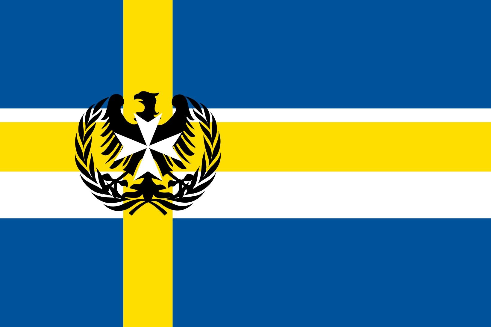 Fourth Flag Of Swedish Country Alternate History Flag Design Flag