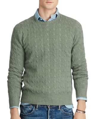 Polo Ralph Lauren Cashmere Cable Knit Sweater Poloralphlauren