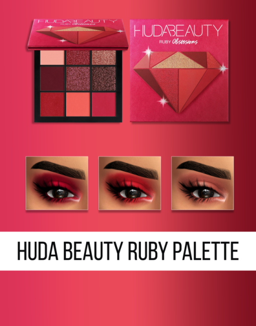 fifthscreations:       HUDA BEAUTY –  OBSESSIONS… –                   			 			Simblr