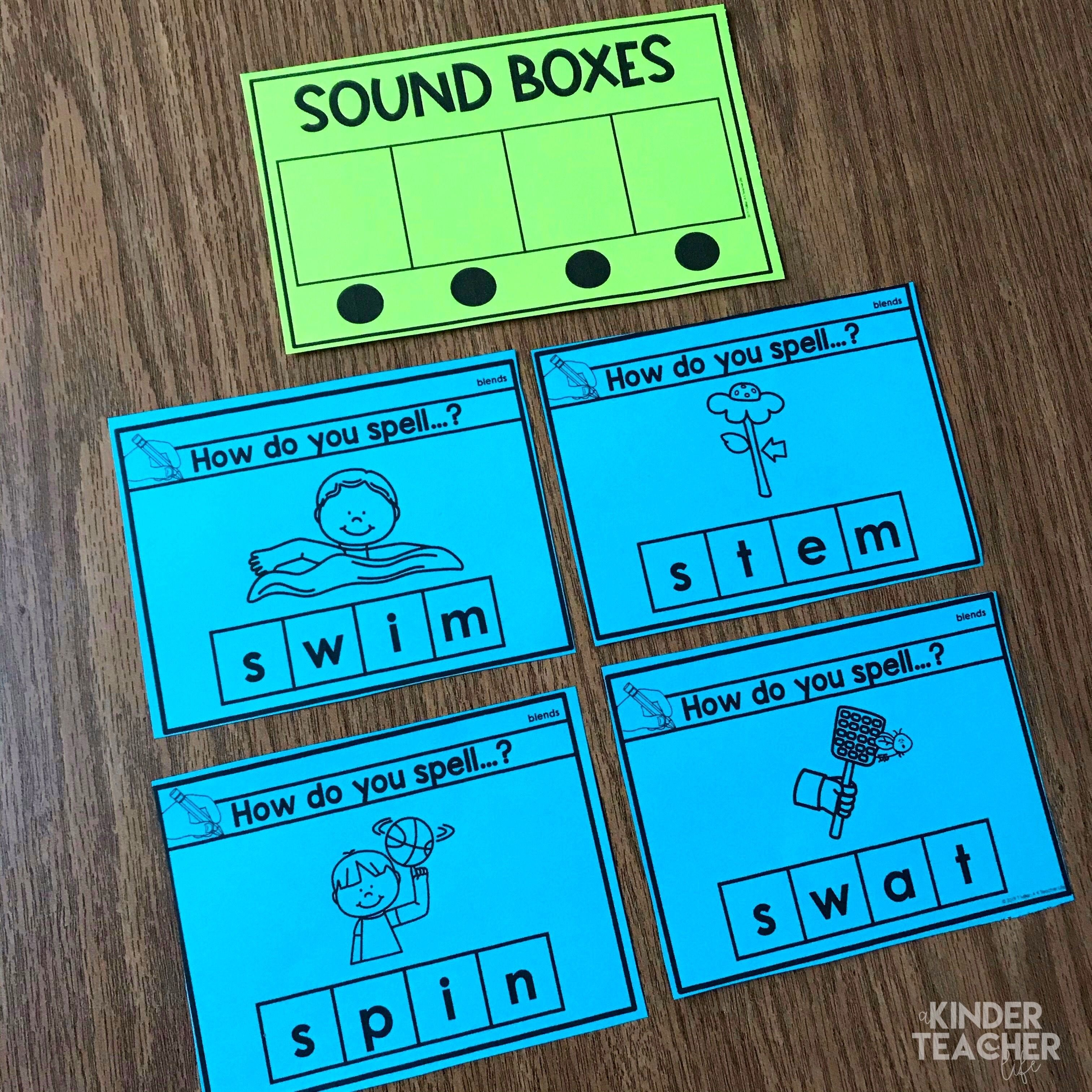 Literacy Strategy That Works Sound Boxes