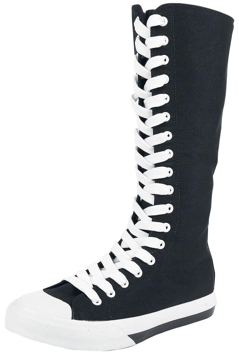 Costo barato en línea R.E.D. by EMP Walk The Line Zapatillas negro-blanco Liquidación negociable En Español CkupObpl