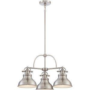Gentil Brushed Nickel Kitchen Lighting Fixtures