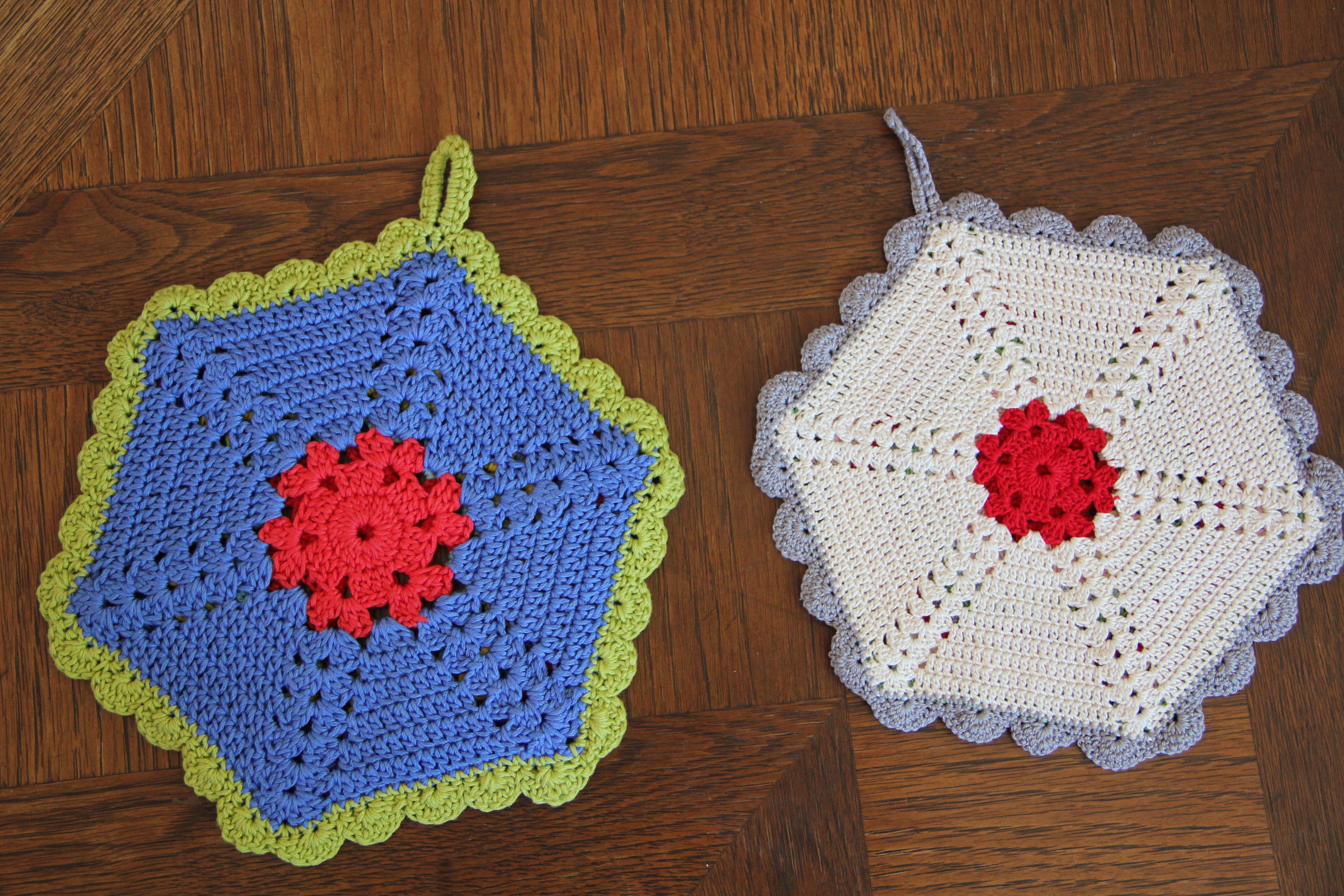 Free Vintage Crochet Potholder Patterns