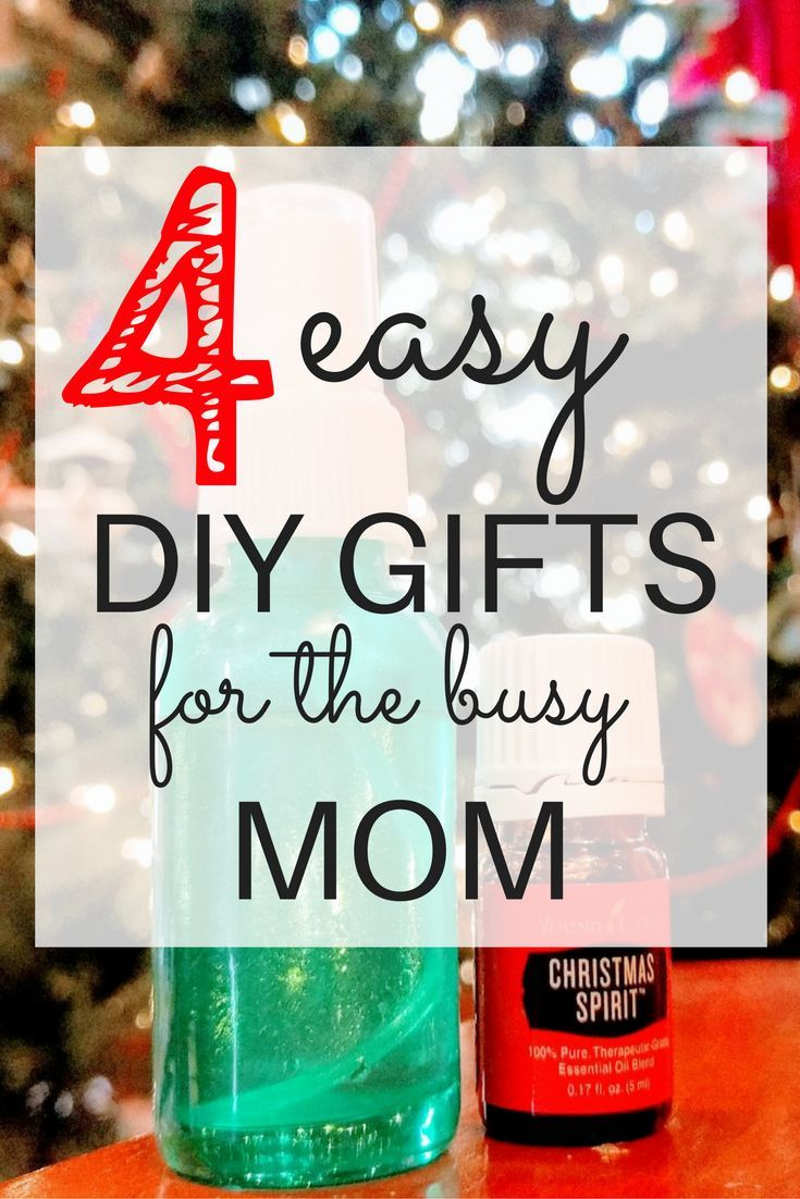 Fun & Easy DIY Essential Oils Christmas Gifts | Gift Ideas ...