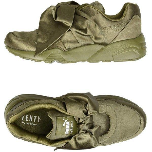 Rihanna X Puma Low tops & Sneakers ($190) ❤ liked on