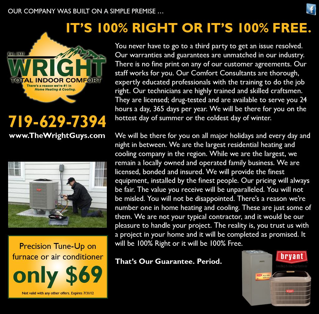 Wright Total Indoor Comfort How To Get It Works Print
