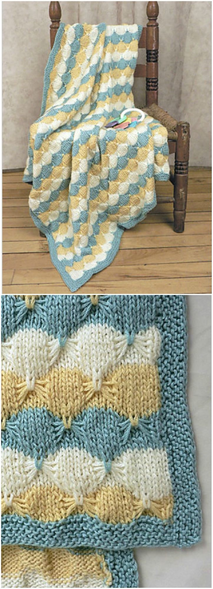 Knitted Butterfly Stitch Free Patterns | The WHOot ...