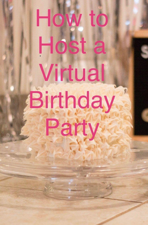 Pin on Kids Virtual Birthday Parties