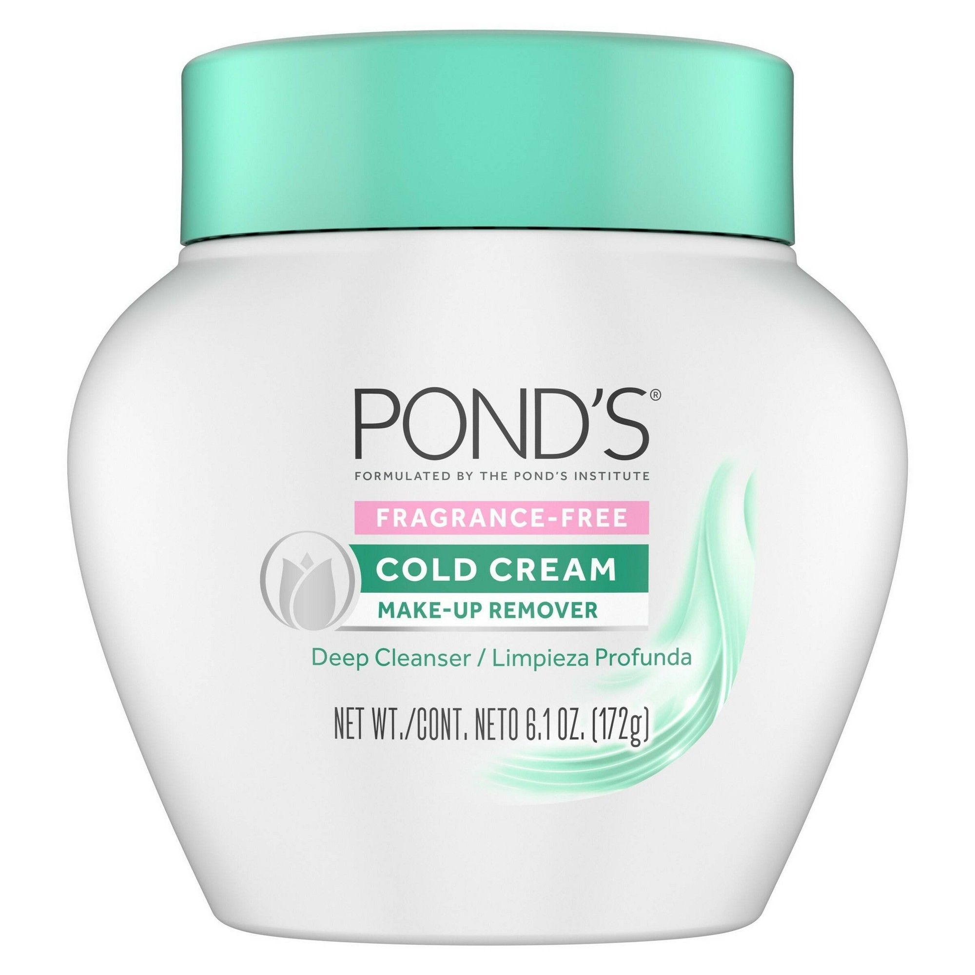 Pond's Fragrance Free Cold Cream MakeUp Remover 6.1oz