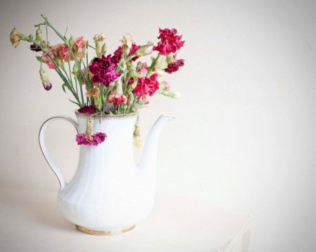 The Most Beautiful Interior Vase Design | Tea Pot Flower Vase