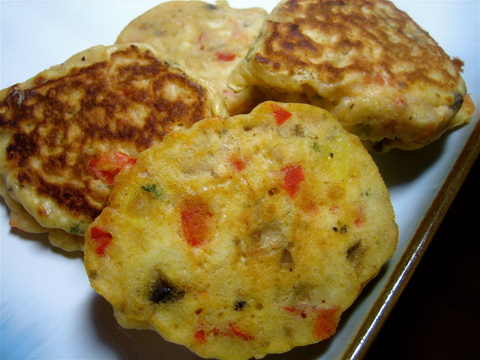 Stephanie Cooks: Vegetable Fritters (And some info on Weight Watchers)