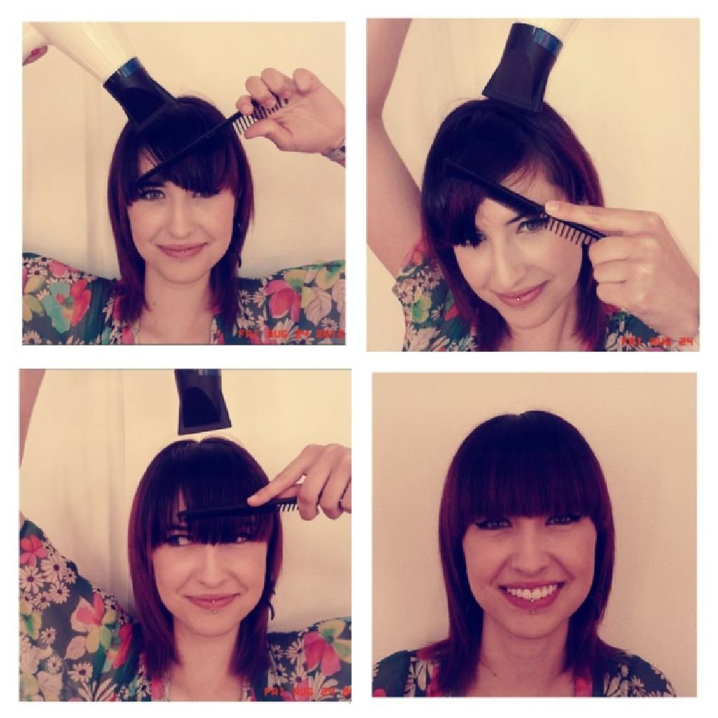 Picmonkey Collagefff Blow Drying Bangs Conquering Cowlicks