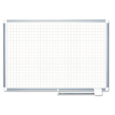 Mastervision Wall Mounted Whiteboard 36 X 48 Magnetic White Board Dry Erase Board Dry Erase