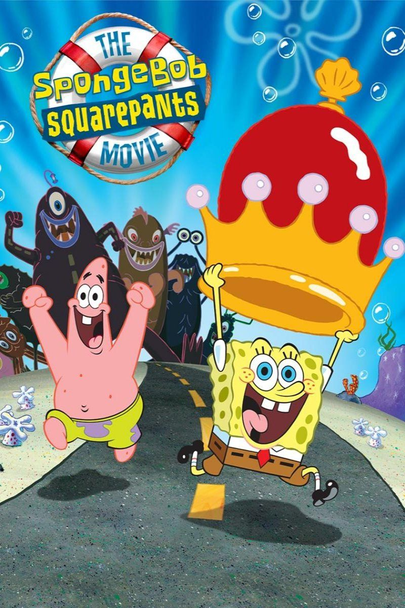 The Spongebob Squarepants Movie Spongebob Spongebob Squarepants Animated Movies