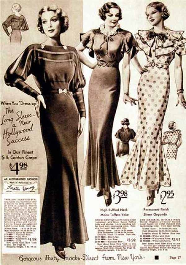 Fashion from 1930s for women 86