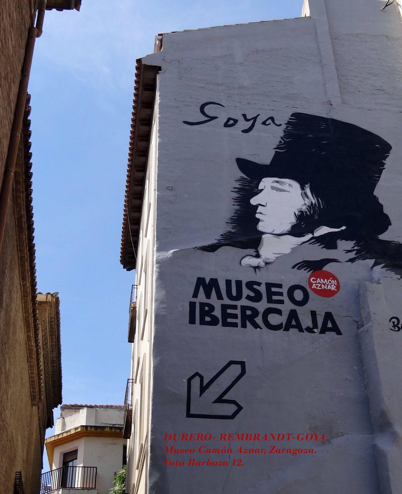 Goya museum in Zaragoza. Het aantal werken viel tegen. Wel een leuk filmpje over het leven van Goya.