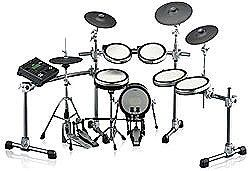 Yamaha DTX950K 6-Piece Electronic Drum Kit includes 12