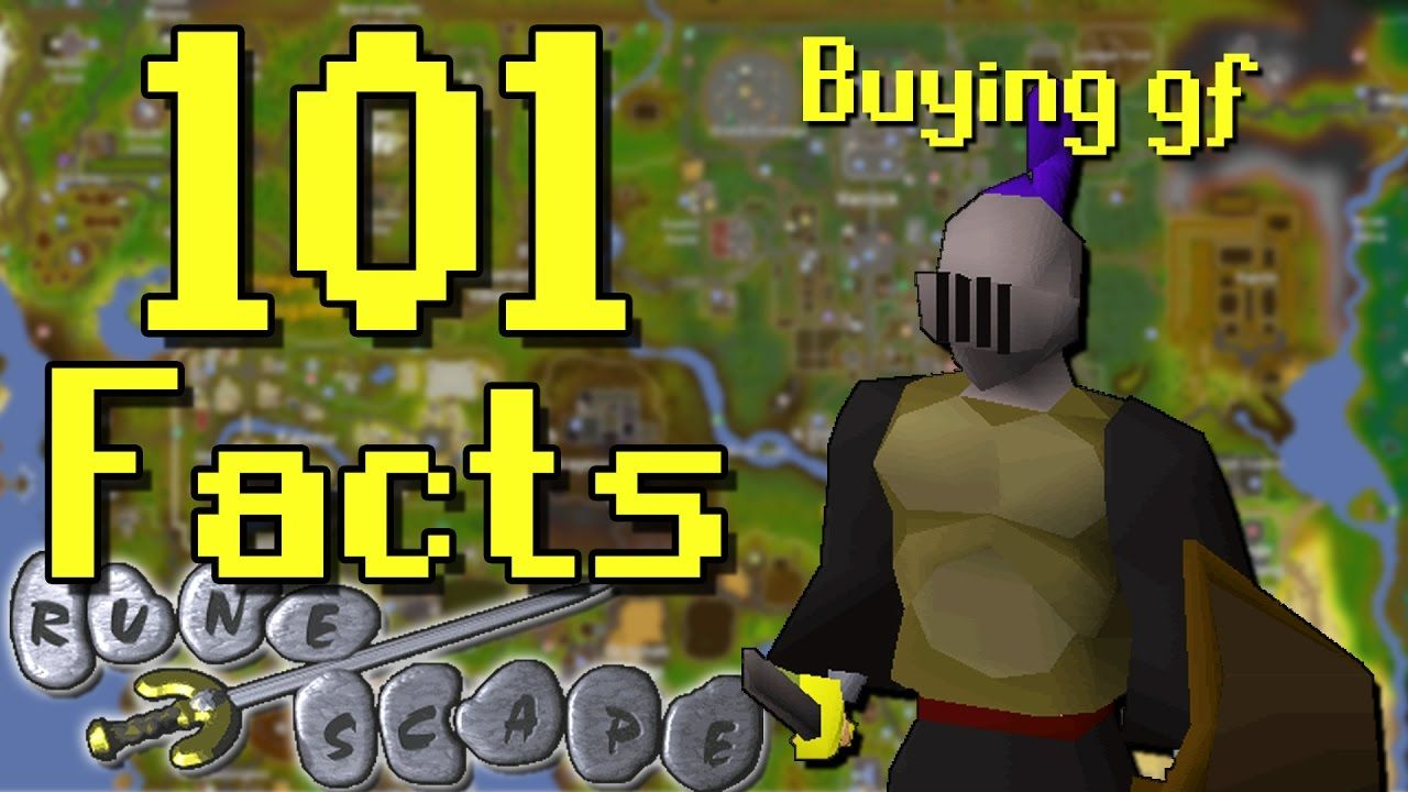 101 Runescape Facts That You Probably Didn't Know! (101