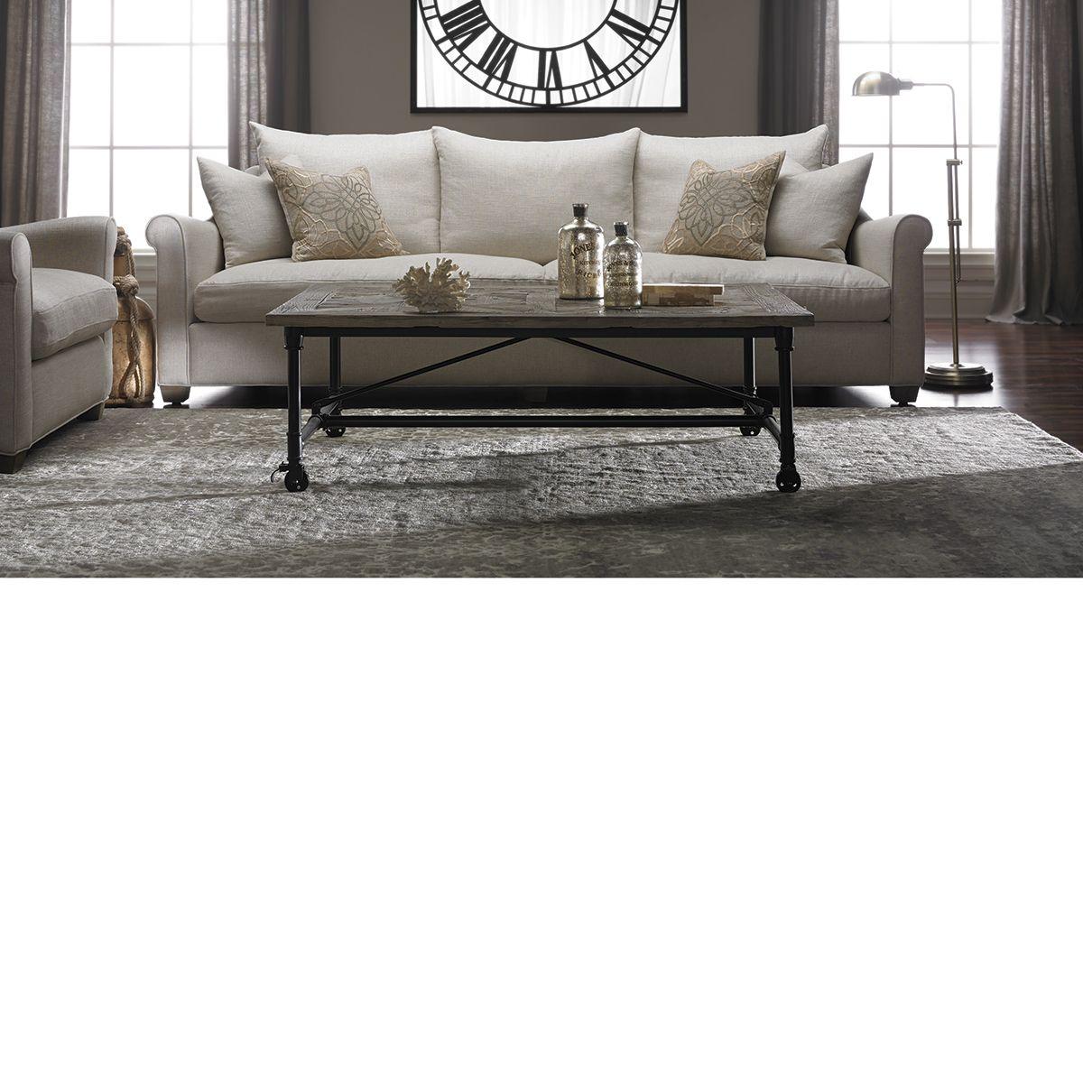 The Dump Furniture - Leo Belgian Roll Arm Sofa   living room ...