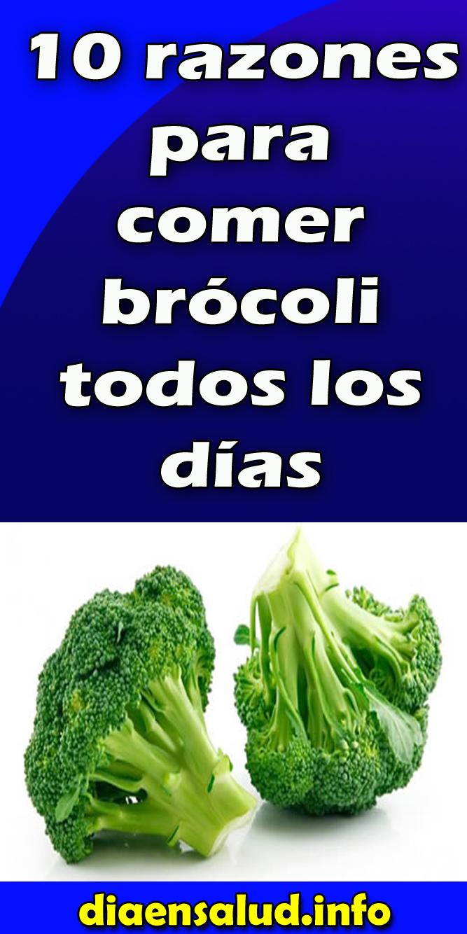 10 razones para comer brócoli todos los días   Salud y