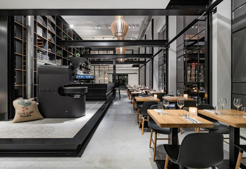 Industrial arredamento ~ Industrial inspired cafè lands to the hague s trendy district