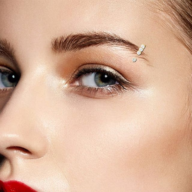 Best Modern Eyebrow Rings For Women Pop Tattoo In 2019 Eyebrow
