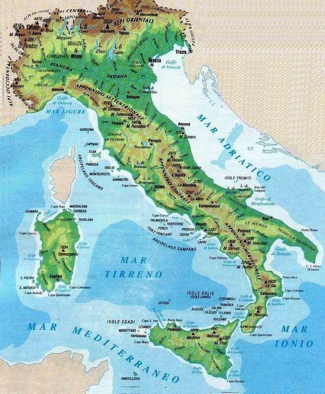 Cartina Fisica Dell Italia Centrale.Scaletowidth 659 797 Carte Geografiche Geografia Attivita Geografia