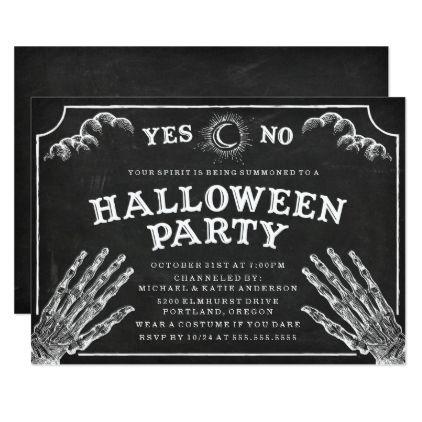 Spirit board halloween party invitation stopboris Images