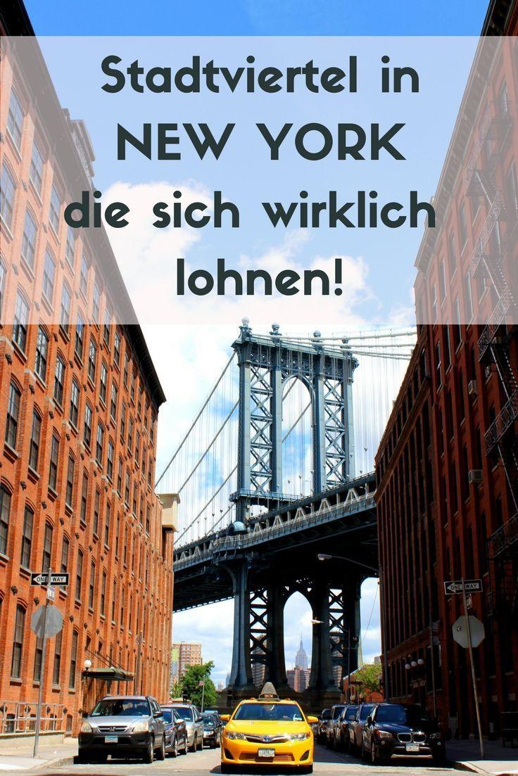 Stadtviertel in New York - Der Ultimative Guide für alle New York Viertel #travelnorthamerica