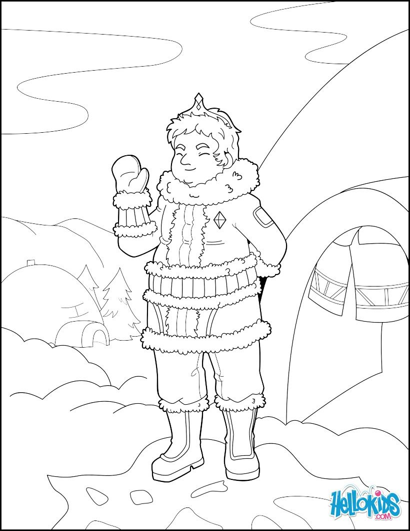 Ice prince coloring page cute and neautfiul coloring page for kids