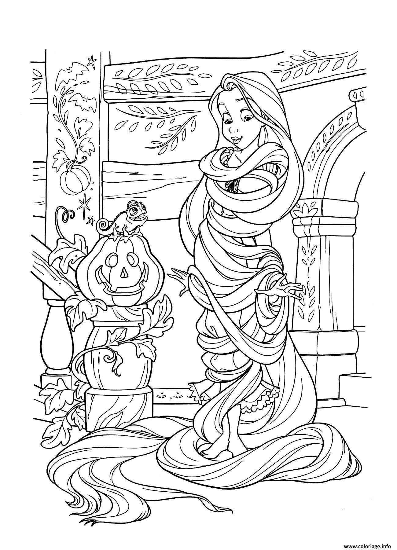 Halloween Coloring Page Princess Belle Disney Halloween Coloring