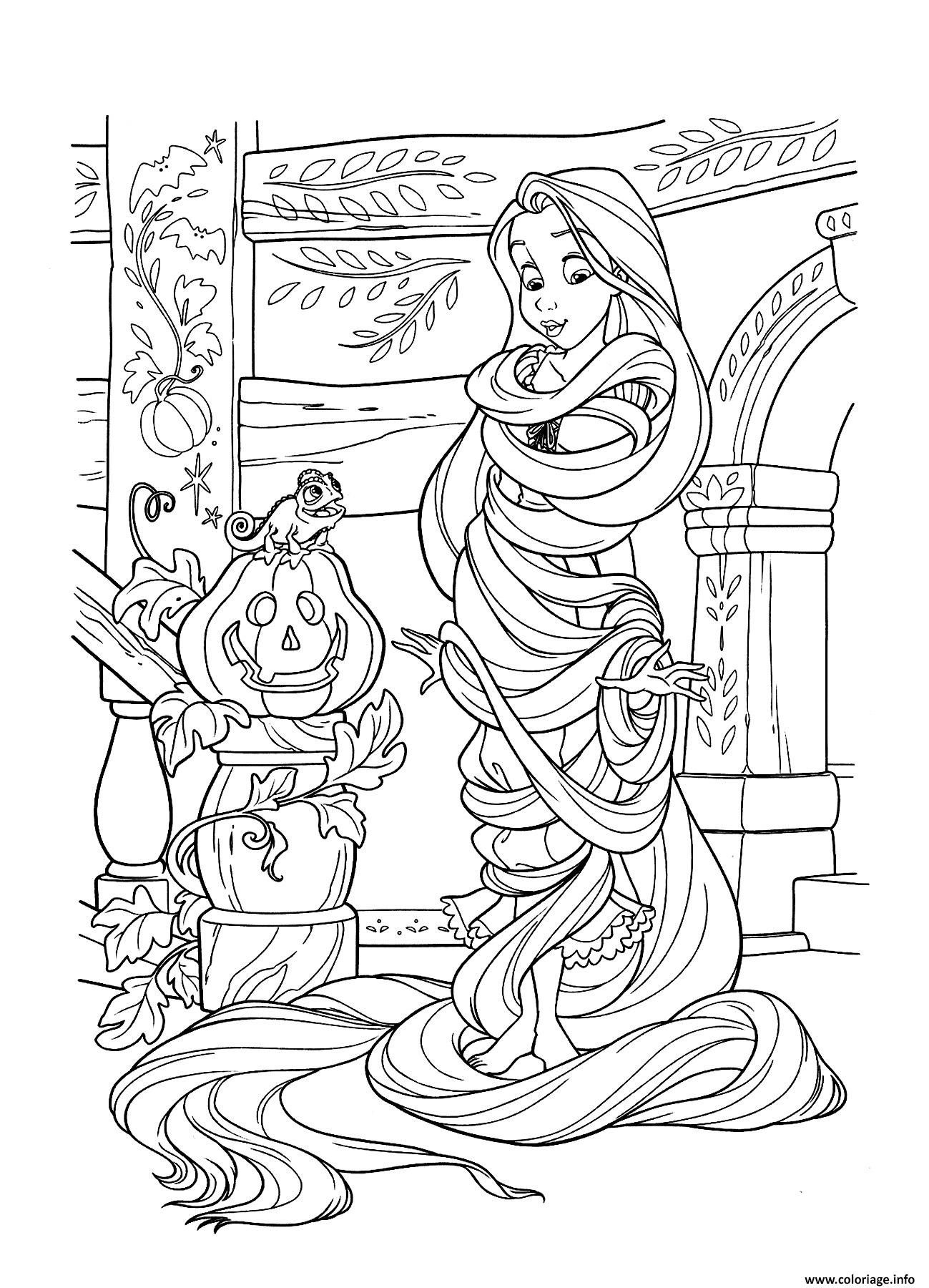 Elegant Coloring Princess Rapunzel A Print Disney Coloring Pages