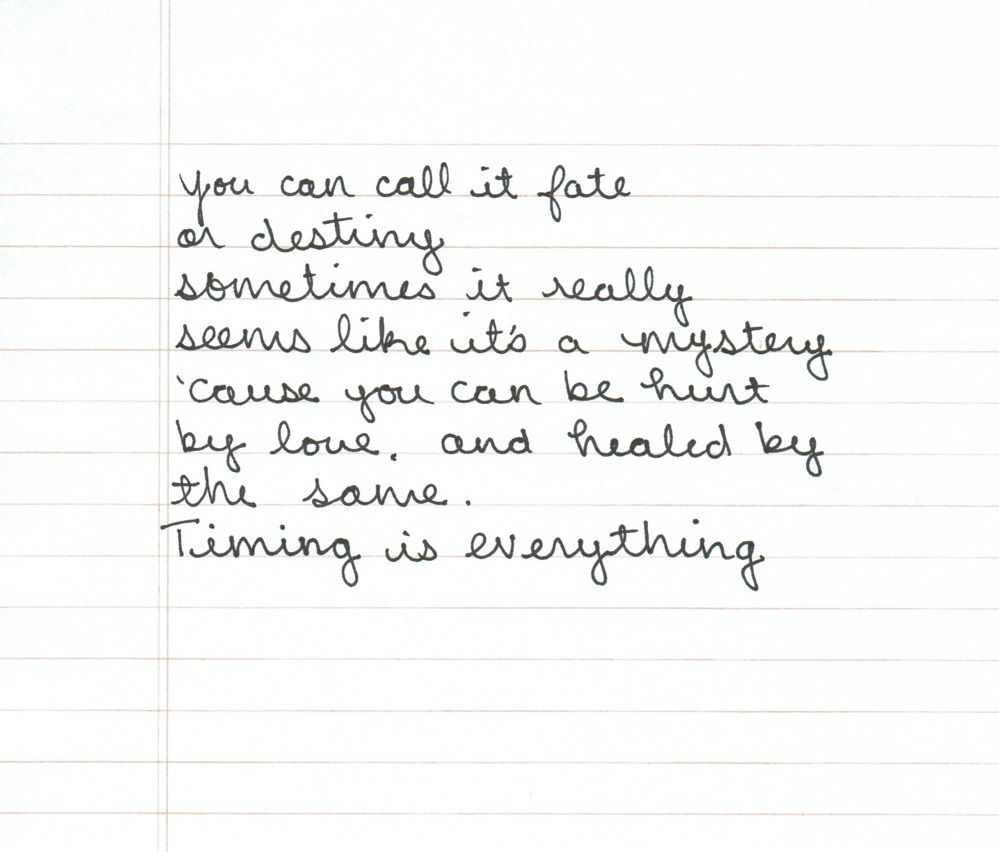 Timing Is Everything Country Strong Love This Song Quotes